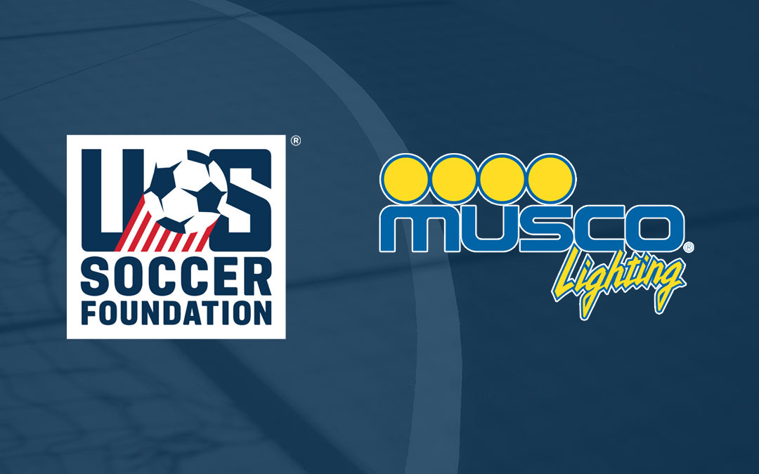 U.S. Soccer Foundation and Musco Lighting Partnership Announcement