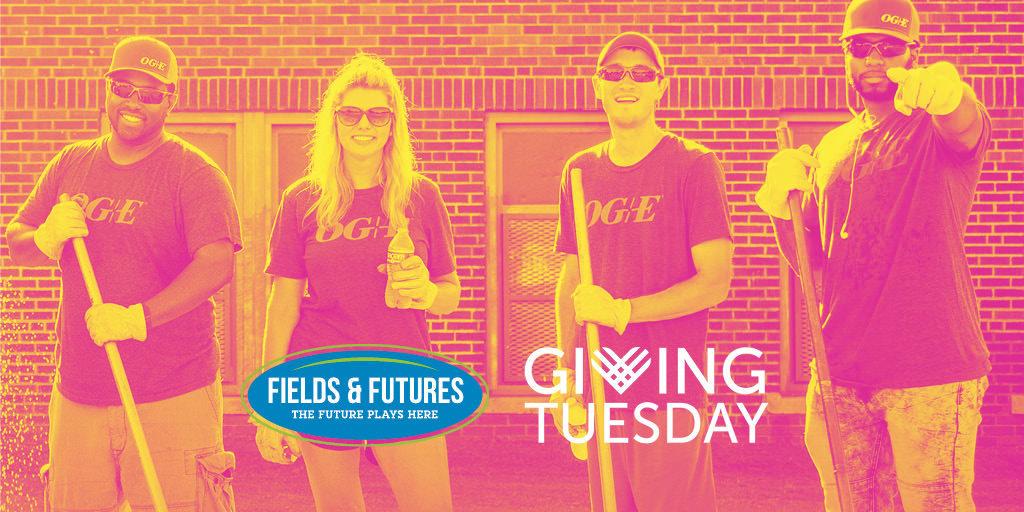 Fields & Futures GivingTuesday OG&E volunteers