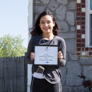 Karla Gonzalez Isaac US Grant High School Female Athlete of the Year