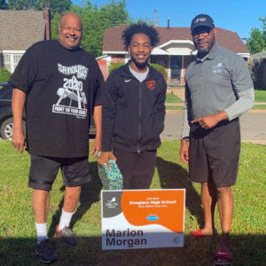 Marlon Morgan Douglas HIgh School Male Student-Athlete of the Year