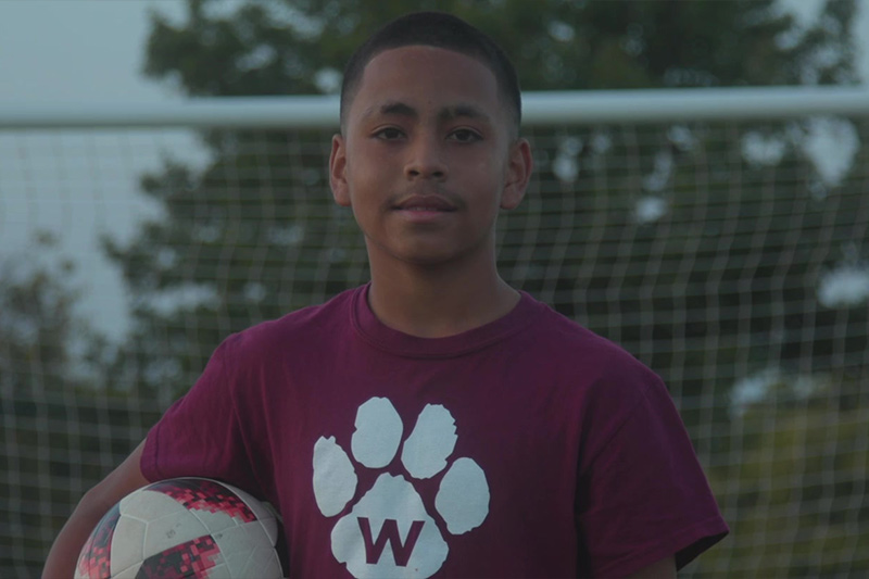 OKCPS Student-Athlete Andres Quiñonez in Fields & Futures Why We Care Campaign Video