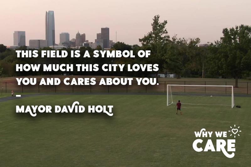 Mayor David Holt Why I Care blog post quote image