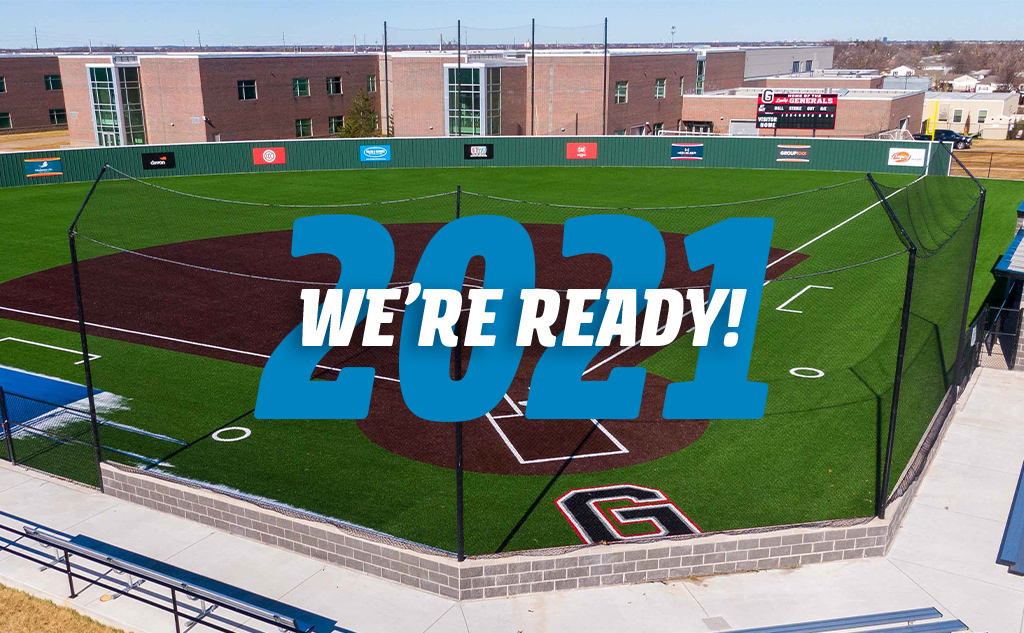 Fields & Futures 2021 We're Ready Blog Post Feature Image of the new U.S. Grant Softball Field