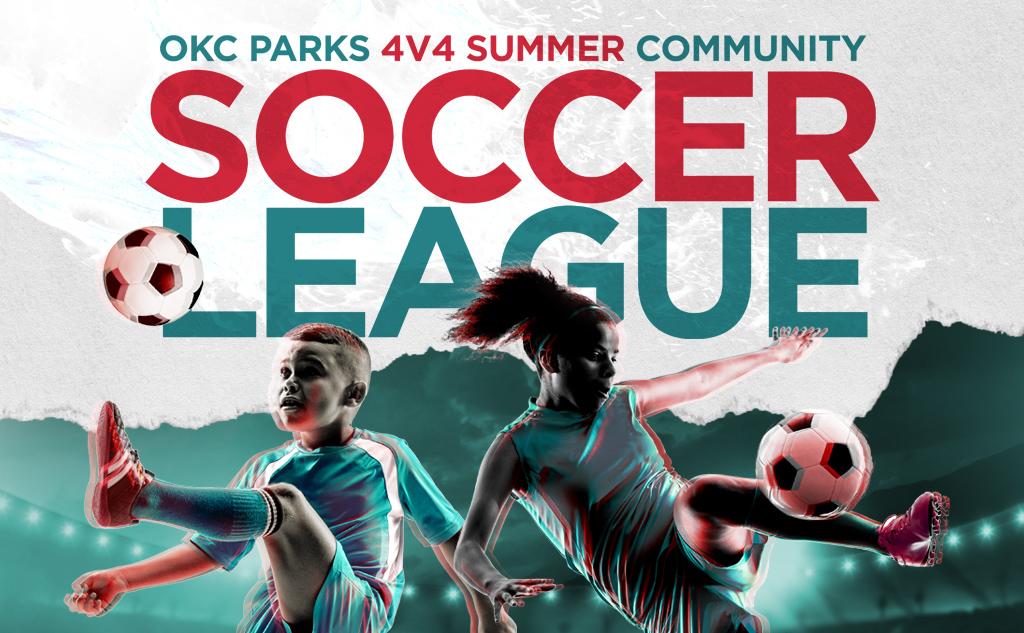 Fields & Futures OKC Parks 4v4 Summer Community Soccer League blog post feature image