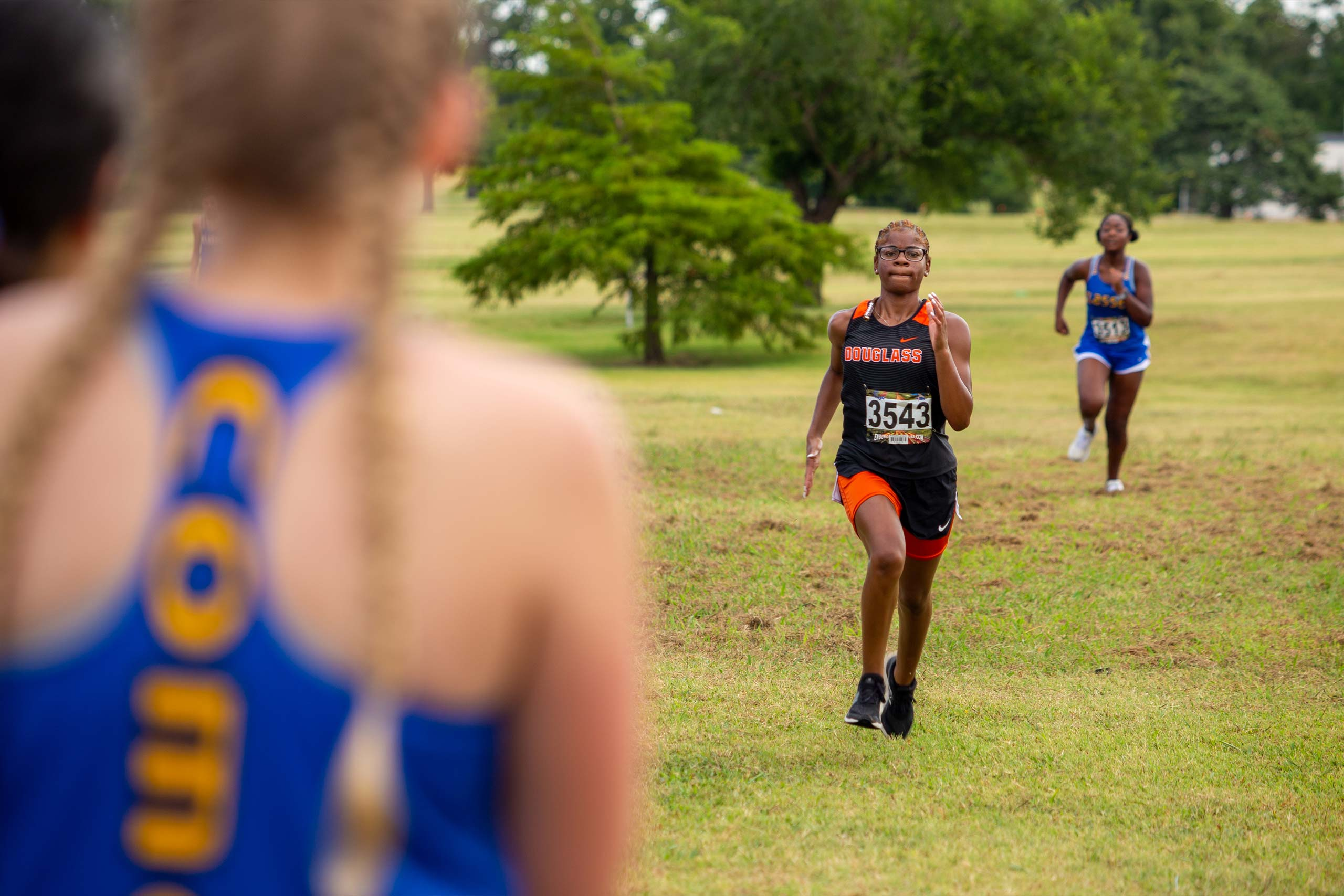 Fields and Futures All-City Athletic Conference Championship blog gallery image of OKCPS athletes racing